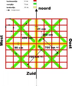 kaart energie lijnen